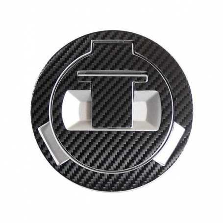 Sticker fuel cap carbon look