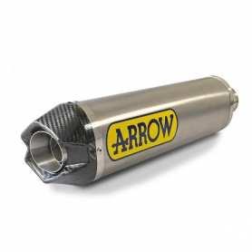 ARROW silencer titanium d 65mm length 350mm