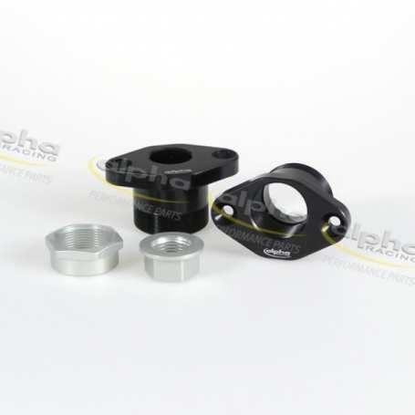 Kit swingarm pivot X -4mm/Y +1mm black  09- 11