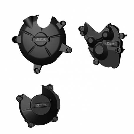 ZX-6R Stock Engine Cover Set 2007 - 2008