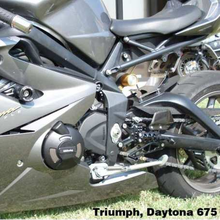 675/ST 675 STOCK Motorcycle Protection Bundle. 8mm Paddock Stand