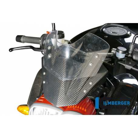 Windshield Carbon - BMW K 1200 R (2005-2008) / K 1300 R (2008-now)