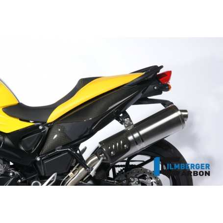 Underseat Side Panel left Side Carbon - BMW F 800 R (2009-2014) / S (2006-now) / ST (2006-now) / GT