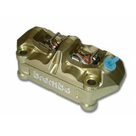 Brembo Caliper. Radial P4 34/34. gold. right side