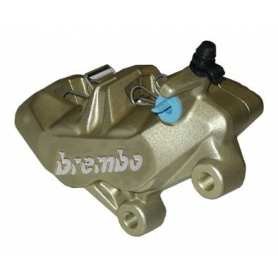 Brembo Caliper P4 34/34. gold. right side