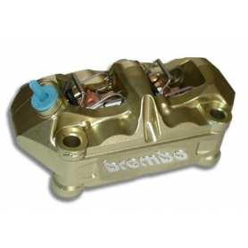 Brembo Caliper. Radial P4 34/34. gold. left side