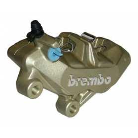 Brembo Caliper P4 34/34. gold. left side