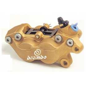 Brembo Caliper P4 30/34C. gold. right side