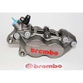 Brembo Caliper P4 30/34. Titanium Finish. left side