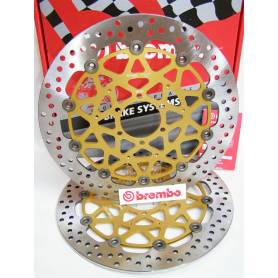 """Brembo """"Supersport"""" Brake Discs kit 208973753"""