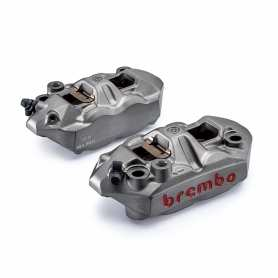 Radial M4 Monoblock Calipers Original Brembo. 108 mm Kit left/right