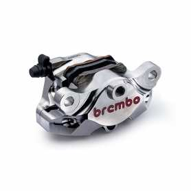 Caliper Brembo P2 34 CNC. Nickel coating. 84mm rear