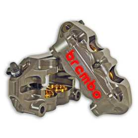 Brembo 100mm P4.32/36 Monoblock Caliper Kit (Left Right / Caliper)