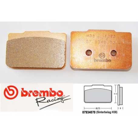 Brembo piduriklotsid sintered (price per pcs. must order 2pcs)