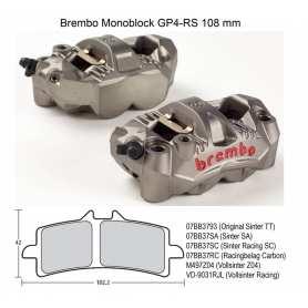 Radial GP4-RS Monoblock Calipers. Original Brembo. 108 mm kit