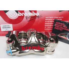 Racing Brake Caliper Monobloc P4 34-38. Moto2 / Superbike 108 mm. Left