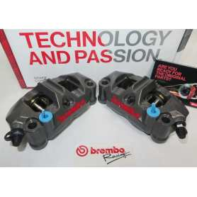 Racing Brake Caliper Brembo Monobloc Topology-Optim. 108mm GP4-RR. Set