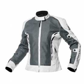 Textile jacket Meshtec Lady 2.0 Black/White
