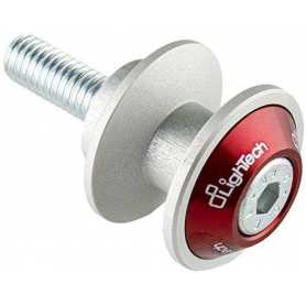 Lightech Swingarm Spools M6 red