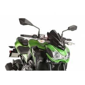 Windshield. N.G. Sport Kawasaki Z900 17-18 C/Black