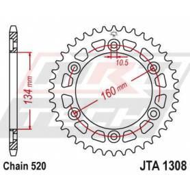 Aluminium Rear Race Sprocket. JTA1308.43