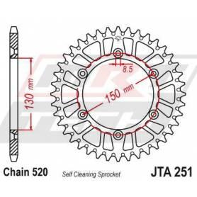 Aluminium Rear Race Sprocket. JTA251.51