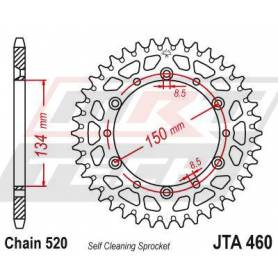 Aluminium Rear Race Sprocket. JTA460.50