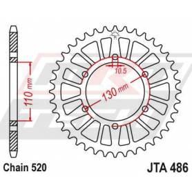Aluminium Rear Race Sprocket. JTA486.47