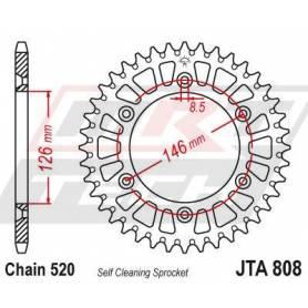 Aluminium Rear Race Sprocket. JTA808.49