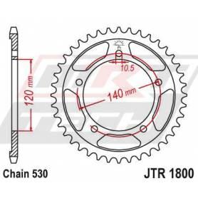 Steel Rear Sprocket. JTR1800.45
