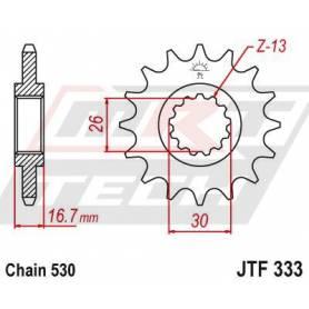 Steel Front Sprocket. JTF333.16