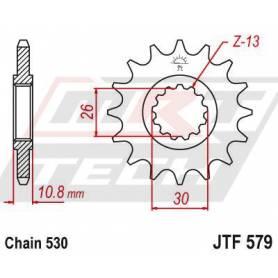Steel Front Sprocket. JTF579.17
