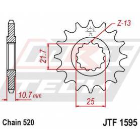 Steel Front Sprocket. JTF1595.16