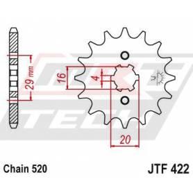Steel Front Sprocket. JTF422.13