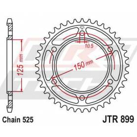 Steel Rear Sprocket. JTR899.42