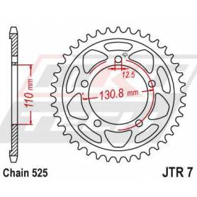 Steel Rear Sprocket. JTR7.45