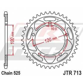 Steel Rear Sprocket. JTR713.42