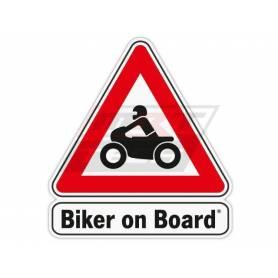 Sticker - Biker on Board