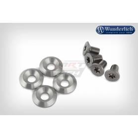 Wunderlich Spare bolts set 8 pieces - Set - silver