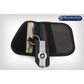 Wunderlich key pouch with RFID blocker - carbon optic