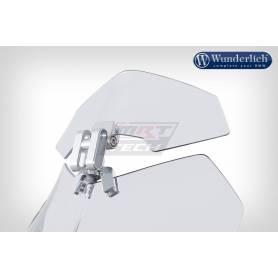 Vario 3D Wind Deflector. Silver. Universal