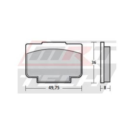 Brembo Brake Pad MD512 HH Sintered