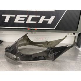 Fuel tank cover long carbon fiber. 2009-2014. HP4