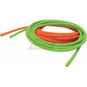 VACUUM TUBING 5MM I.D. 10 MM O.D. SILICONE GREEN