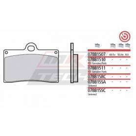 Brembo Brake Pad ID450 Organic Front 07BB1511