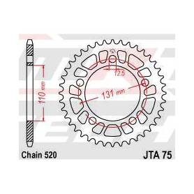 SPROCKET REAR 45T 520 ALU
