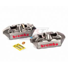 Radial M4 Monoblock Calipers Original Brembo. 100 mm Kit left/right