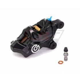 "Brembo "".484"" Custom caliper kit Black coating remachined logo - right"
